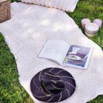 вязаный коврик оформление фото