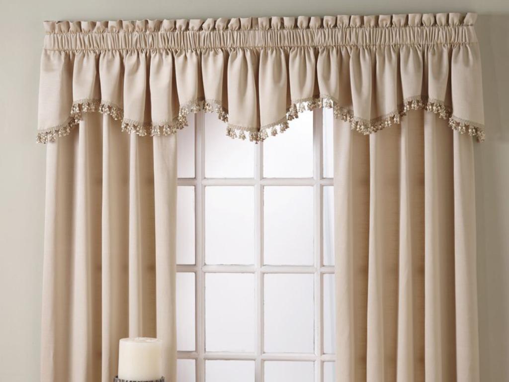 как удлинить шторы с ламбрекеном