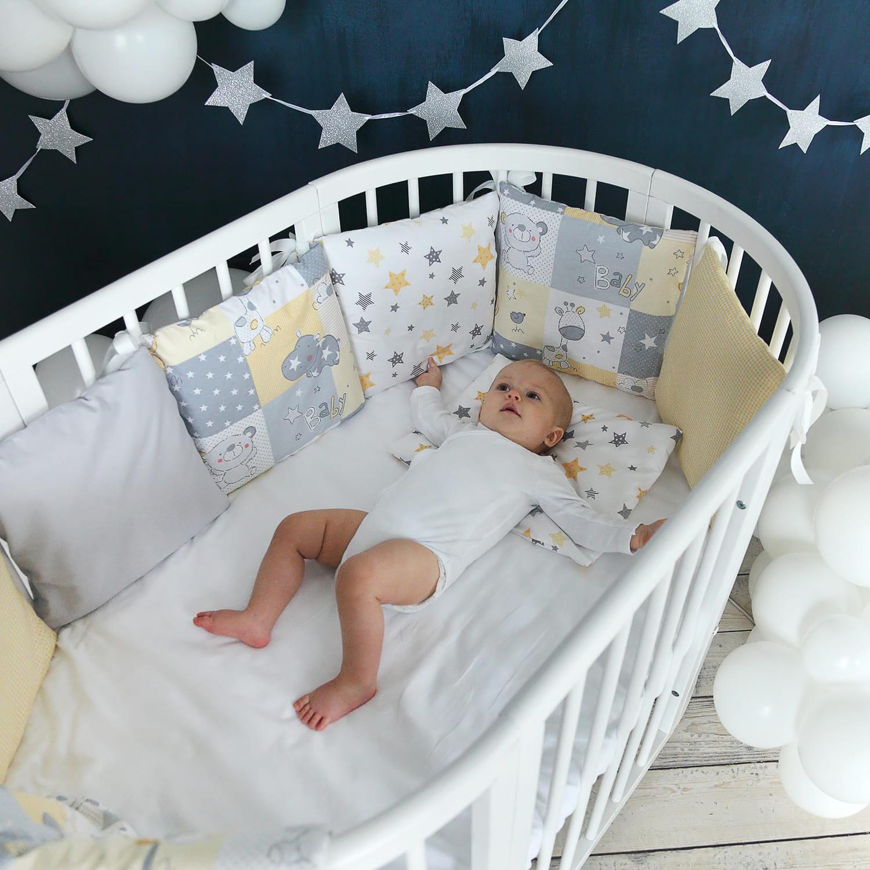 защитные решетки в детских кроватках