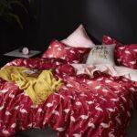 сатиновое постельное белье под шелк