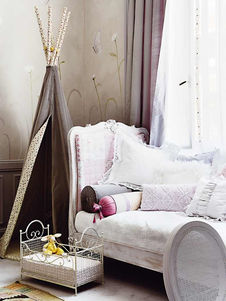 подушки в детской