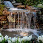 декоративный водопад большой