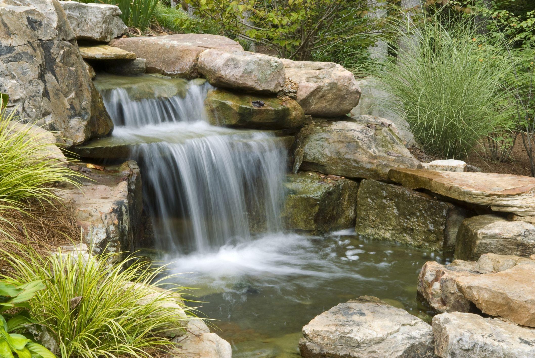 уклон для водопада