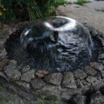 декоративный водопад фонтан
