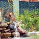 декоративный водопад лейка