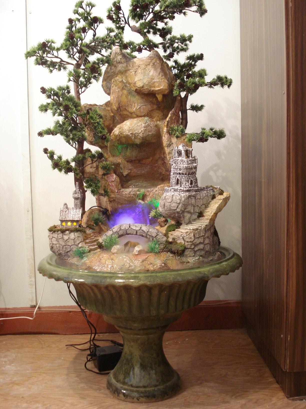 домашний водопад декоративный