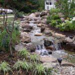 декоративный водопад каскад