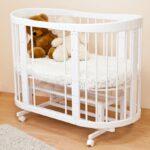 детская круглая кроватка трансформер фото декора