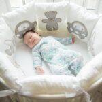 детская круглая кроватка трансформер идеи декор