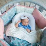 детская круглая кроватка трансформер интерьер