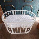 детская круглая кроватка трансформер фото интерьер