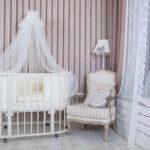 детская круглая кроватка трансформер фото интерьера