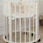 детская круглая кроватка трансформер идеи интерьер