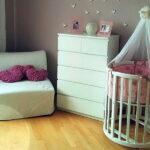 детская круглая кроватка трансформер фото оформления