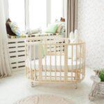 детская круглая кроватка трансформер идеи оформление