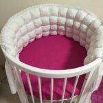 детская круглая кроватка трансформер фото варианты