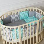 детская круглая кроватка трансформер идеи фото