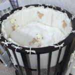 детская круглая кроватка трансформер идеи виды