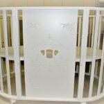 детская круглая кроватка трансформер фото идеи