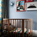 детская круглая кроватка трансформер фото дизайн