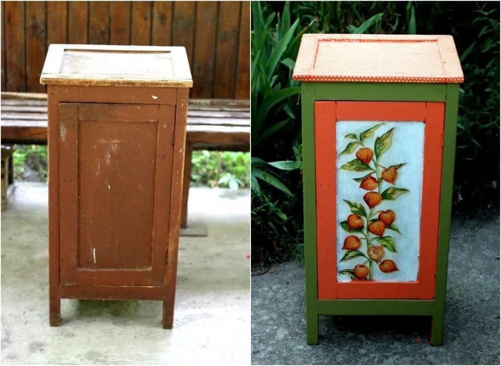 как обновить старую мебель дизайн