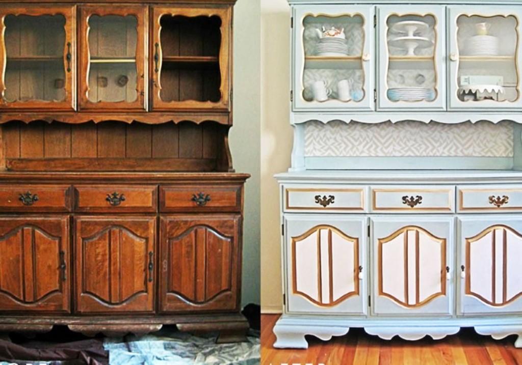 как обновить старую мебель фото