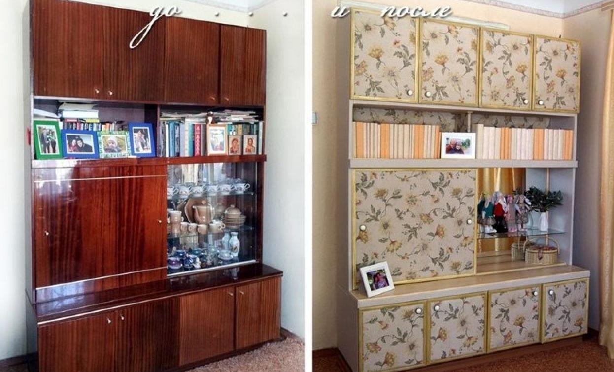 как обновить старую мебель идеи фото