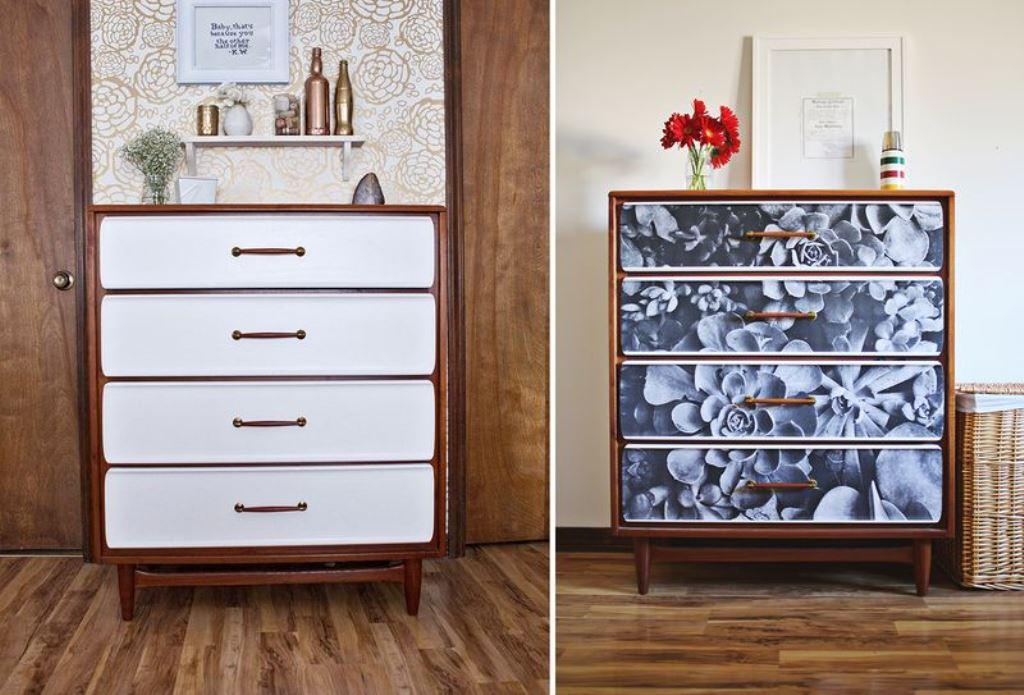 как обновить старую мебель идеи