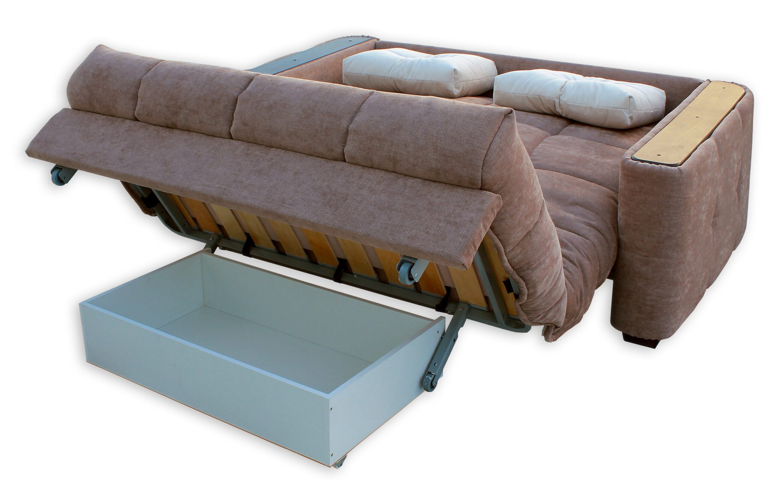 У выкатного дивана