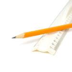 карандаш линейка