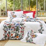 сатиновое постельное белье на большую кровать