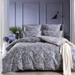 аккуратное сатиновое постельное белье