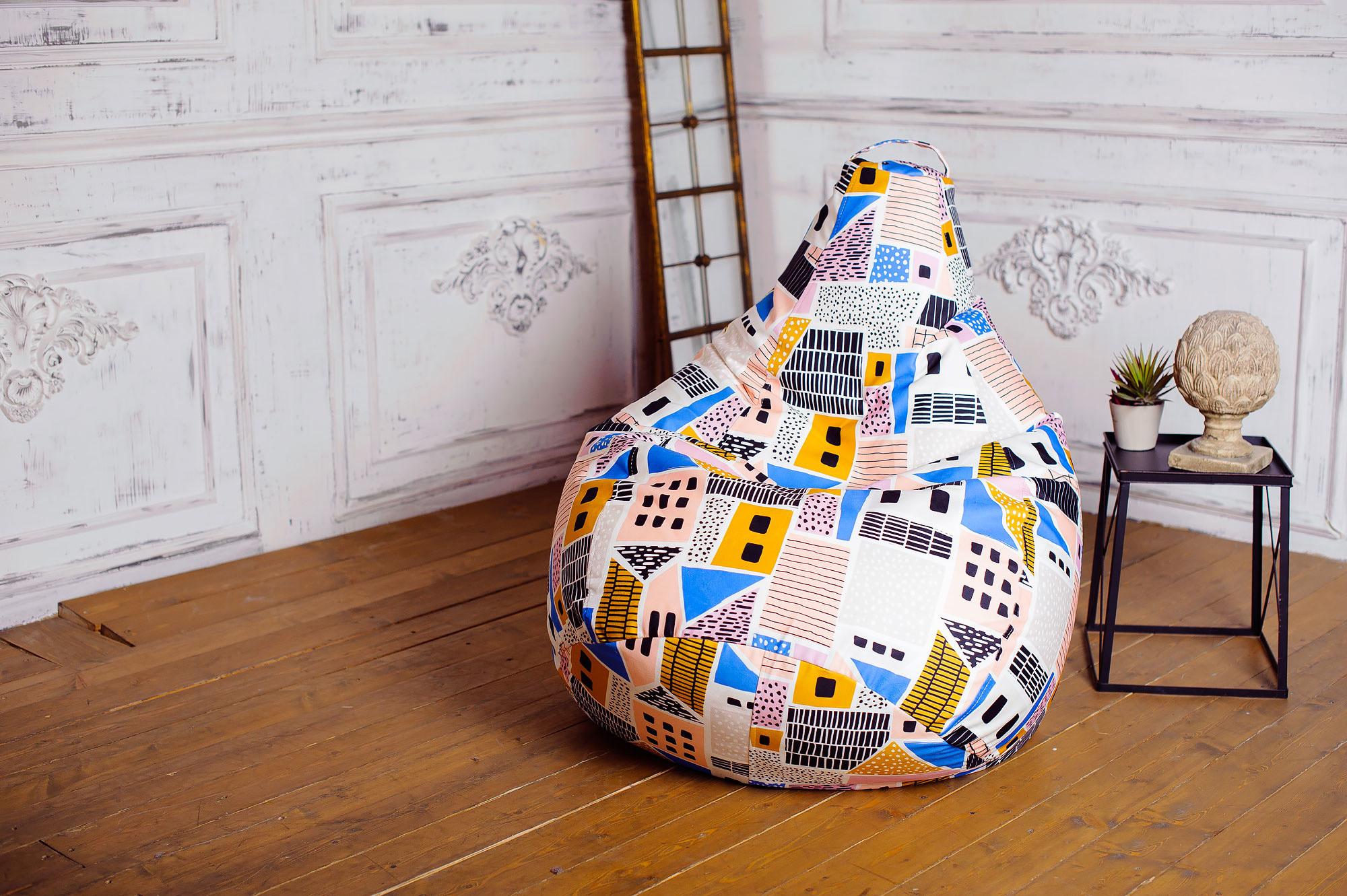 кресло мешок идеи дизайна