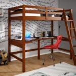 кровать чердак с рабочей зоной фото