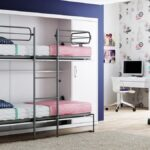 кровать двухъярусная трансформер для девочек