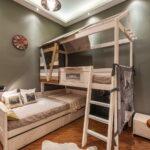 кровать двухъярусная трансформер дереввянная