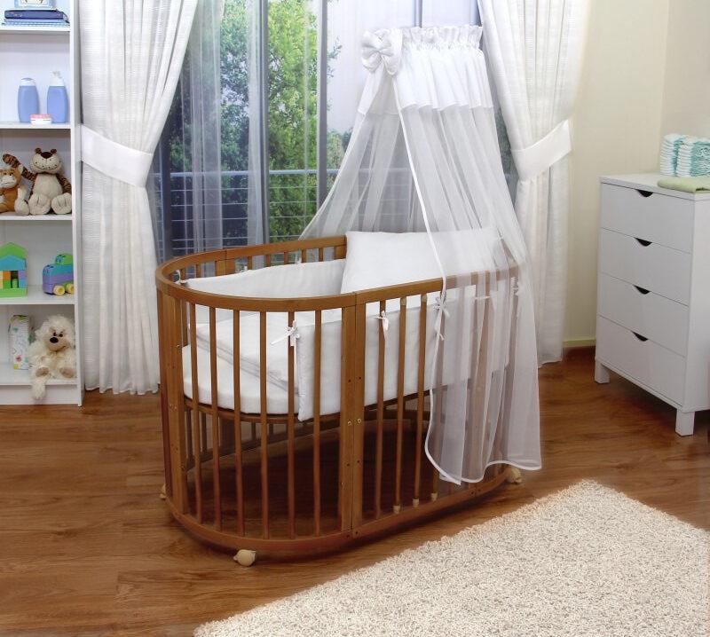 круглая кроватка трансформер для новорожденного фото идеи