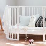 круглая кроватка трансформер для новорожденного фото оформление