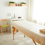 массажный стол оформление фото