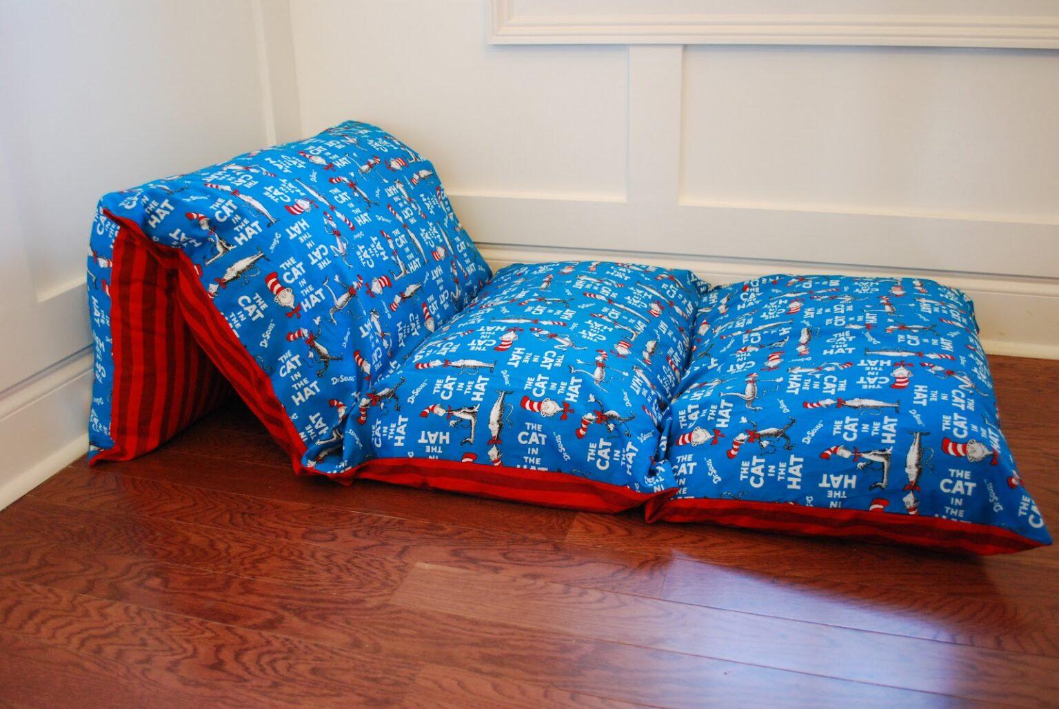 как сделать матрас из подушек