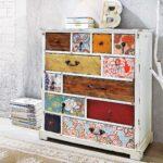 мебель после реставрации виды декора