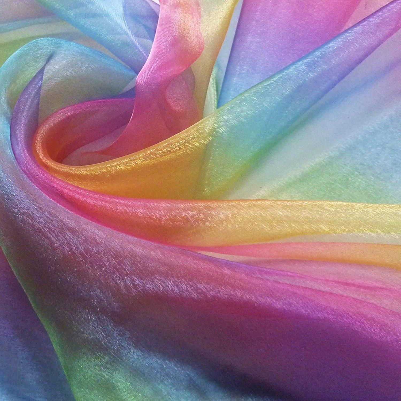 органза радуга