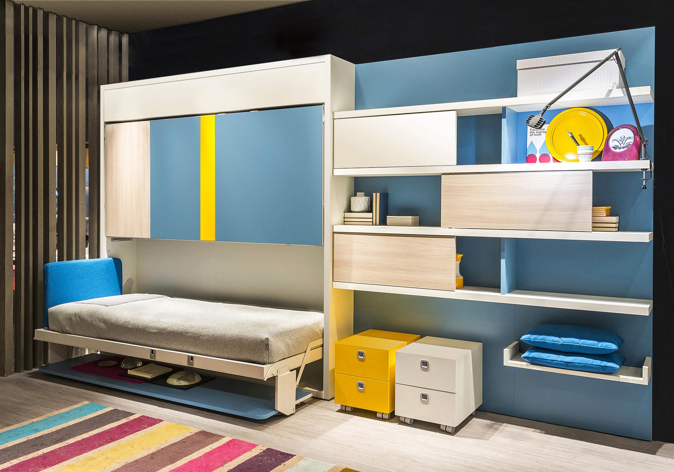 откидная детская кровать идеи дизайна