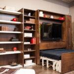 откидная кровать в шкафу идеи дизайн