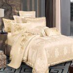 блестящее сатиновое постельное белье