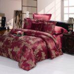 элегантное сатиновое постельное белье
