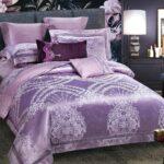 глянцевое блестящее сатиновое постельное белье