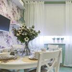 шторы для кухни идеи дизайна
