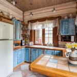 шторы для кухни интерьер