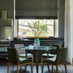 шторы для кухни фото интерьер
